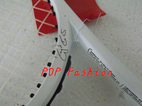 HOT!!Pro Staff Six.One 90/95/100 Tennis Racket/Racquet Roger Federer tennis racket With Bag and String Grip size:4 1/4 or 4 3/8
