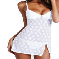 Women Sexy Lingerie Babydoll Dress Sleepwear Nightwear G-String Underwear