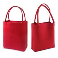 Women's wool felt handbag bag large capacity felt bag women's felt bag fashion design