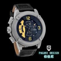 2015 brand watch Watches men luxury brand top watch Multifunction Pagani Design 2633 quartz men sport wristwatch military