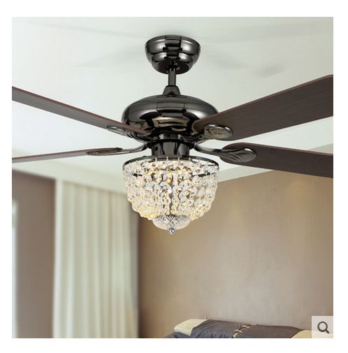 Chandelier Fan: Popular Ceiling Fan Crystal Chandelier-Buy Cheap Ceiling
