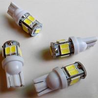 50pcs T10 9 LED 5630 SMD Car led Interior Light Car Automobile Bulbs Lamp194 168 192 W5W LED Light License Plate Light