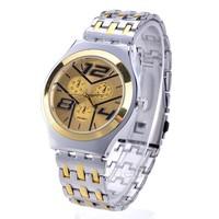 New 2014 Fashion Watches Men Stainless Steel Belt Sport Business Quartz Watch Wristwatches b7 SV008190