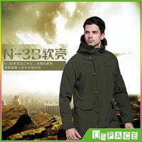 BALTORO Alpha N-3B Mens shark soft shell jacket TAD outdoor Warm waterproof fleece jackets Outerwear & Coats