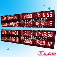 days date led digital timer clock