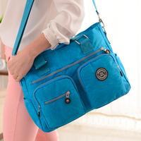 European and American fashion new Female Travel waterproof nylon bags shoulder bag Hand bags Bag Womens ...