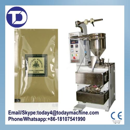 new 2015 real machinesof making bags automatic sealer shampoo packing machine 1pcs/box semi-liquid food(China (Mainland))