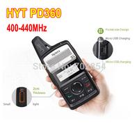 HYT walkie talkie 400-440MHz hytera PD360 protable radio PD36X PD-360 PD-368 DMR transmitter