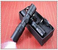 Best price! 3W Mini CREE LED Waterproof Flashlight Torch Handy Light Lamp Hunting Keychain lantern led light