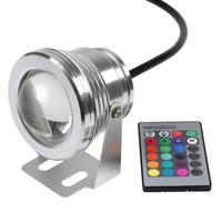 outdoor AC85-265v  LED Flood Light bulb Lamp 10W  RGB LED underwater light   Warm White/White  Waterproof    led floodlight