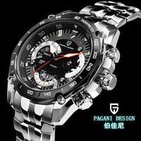 luxury brand Top Watch Multifunction Pagani Design 0001 quartz men sport wristwatch military watch relogio masculino