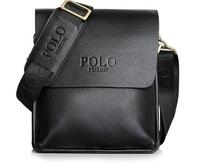 Genuine Leather Polo men shoulder bag Business Messenger Bag casual briefcase Free Shipping