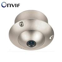Mini Flying Saucer Dome H.264 ONVIF Security Surveillance CCTV IP Camera UFO Camera for 720P Audio Pick-Up Camera