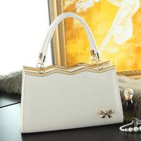 2014 women's fashion handbag small bag vintage bow bag handbag one shoulder cross-body women's bags