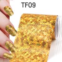 1Pcs New Useful Big size 130*4cm Fashion DIY Gold Nail Art Stickers Polish Foil gel Tips Gitters Decoration Hot Sale 06020303