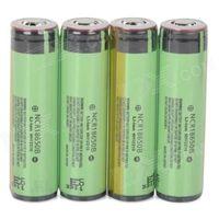 Rechargeable 18650 3400mAh Li-ion Batteries - Yellowish Green + Black