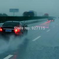 5pcs Newest Anti Collision Rear-end Car Laser Tail Fog Light Auto Brake Parking Lamp Rearing Warning Light