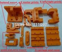 Reprap Prusa i3 3D printer prints, PLA plastic print for direct extruder printer