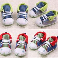 Cute Cartoon Printed Baby Kids High Shoes Casual Anti-Slip Toddler Walk Sneaker Free Shipping
