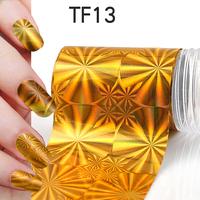 1Pcs New Useful Big size 130*4cm Fashion DIY Gold Nail Art Stickers Polish Foil gel Tips Gitters Decoration Hot Sale 06020501