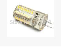 2015 New G4 Bulb 64 X3014 SMD Lamp 360 degree Warm/ White G4 led Light led Bulb Lamp AC 220V  500PCS