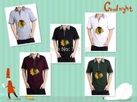 Man all Cotton T- shirt men's Chicago Blackhawks cheap sale Size M L XL XXL XXXL