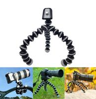 Flexible Tripod Leg Mini Tripod Octopus Mount Adapter For Gopro Accessories Gopro Hero HD Hero 1 2 3 3+ Digital Camera 2015 New