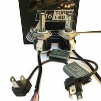 #XP Hot 2 x40W 3600LM H4 Car CREE LED Headlight Kit Driving Lamp H/L Bulb All In One New Car Light