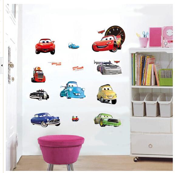 Cartoon Decoration Removable Wall Stickers Paper Kindergarten Children