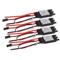 4pcs 30AMP Simonk Firmware Brushless ESC w/2A 5V BEC 2-4S for Quad Multi-copter