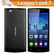 "Amazing 4500mAh Original Leagoo Lead 7 MTK6582 Quad Core Android4.4 5"" QHD OGS IPS Screen 1GB RAM+8GB ROM 13MP+8MP Dual Cam 3G(China (Mainland))"