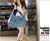 European /American fashion &cool casual shoulder bag womens canvas hand bag