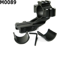 Free Shippingl! 1Pc M0089 Tri Rail Ring 25.4mm 30mm Scope Mount Weaver Mount Cantilever