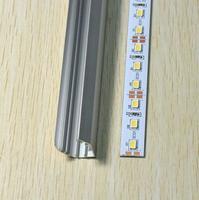 50M/Lot, DC12V 72 LED/M Non Waterproof SMD 5630 Led Rigid Strip Bar Lights with V Style Aluminum Slot (Warm White)