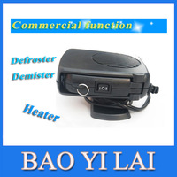 Car Portable Ceramic Heating Heater with Defroster Demister Heater function Fan Upgrade 12V 150W Vehicle free shipping