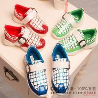 2015 Spring Shoe  Boys School Famous Brand Kids Shoes Chaussures Enfants Sneakers Boy Flat Footwear Children Sports Shoes L92