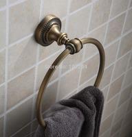 Imitation bronze brushed bathroom towel ring bathroom pendant metal pendant hanging
