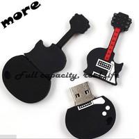 Cute guitar USB Flash Drive 16GB Pen drive Memory sticker wholesaler