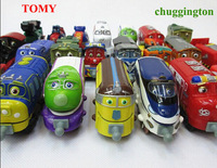 2pcs/ lot 100% TOMICA brand toy scale models chuggington truck train locomotive toy car miniatures railroad free shipping