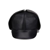 Original design autumn and winter genuine leather hat sheepskin warm hat baseball cap