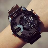 2015 New high quality quartz big watch men dress watch men wrist watches Fashion & Casual Watches Men Gift Watch Free Shipping