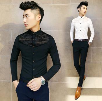 Designer Clothes For Men Asia Korean Fashion Slim Fit