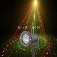 elf light christmas outdoor garden laser 8IN1 red green christmas laser projector waterproof outdoor laser light projector