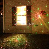 8in1 RG  Waterproof Latest Firefly Elf Laser Light 8 patterns Outdoor Christmas lights garden grass landscape decorative lights
