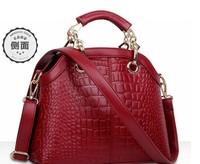 Hot Sale New 2015 Fashion Desigual Brand Crocodile Women Handbag Leather Shoulder Bags Women Messenger Bags Tote