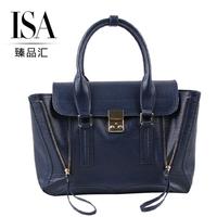 High Quality Cowhide Vintage Zipper Smile Bag Shoulder Women's Handbag Brand Mini Pashli Satchel Bag luxury lim Messenger Bag