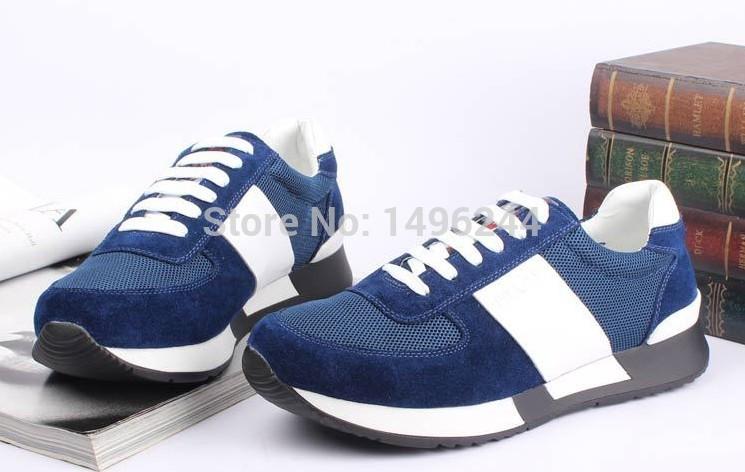 Новые мужчины мода повседневная обувь раунд