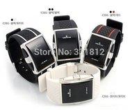 2015 new 4 colors luxury fashion watch brand men womens Digital Sport strap wristwatch for ladies dress watches clock