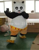 fast shipping  Mascot Costume Kung Fu Panda Cartoon Character Costume Adult Size