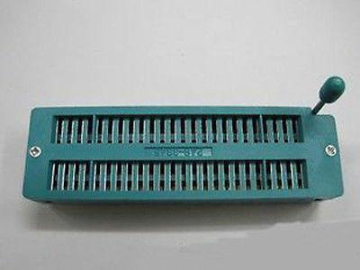 50pcs 48pin 48 Pin 2.54mm IC Test Universal ZIF Socket(China (Mainland))